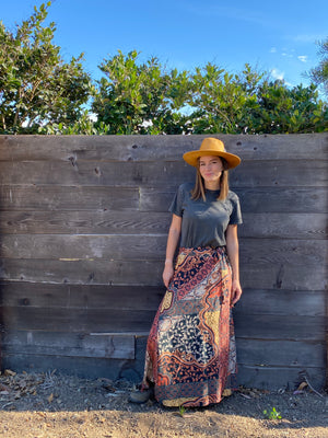 Wrap Skirt in Adventure Awaits