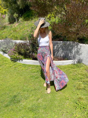 Wrap Skirt in Around The World