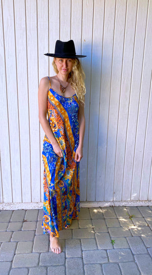 Deer Creek Dress in Capri