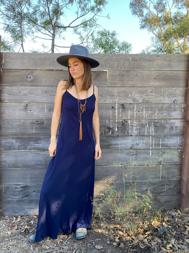 Deer Creek Dress in Navy