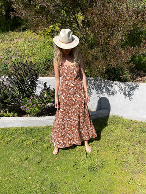 Deer Creek Dress in Woods