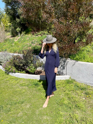 Horizon Dress in Navy
