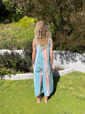 Ciao Overalls in Seaside Serape