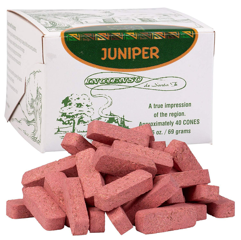 The Incense of the West Juniper Incense Bricks
