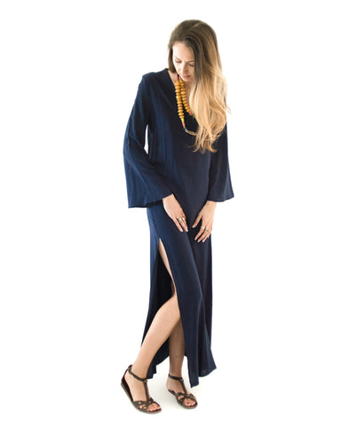 1d1aa1f8d0 Seaside Kaftan in Navy.   196.00. Gatsby Dress in Navy