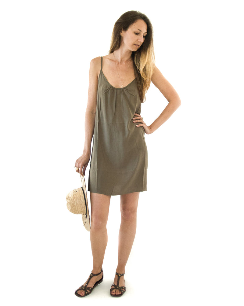 Perfect Dress in Olive