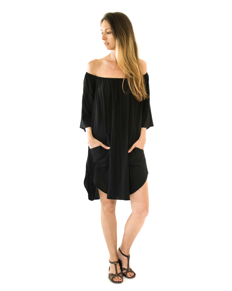 Señorita Mini Dress in Black