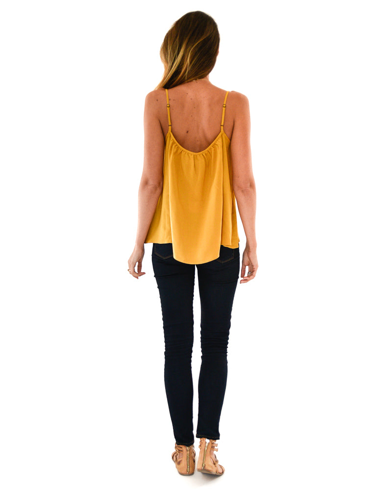 Gold Dust Tank in Citrine