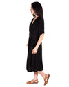 French Market Dress in Black