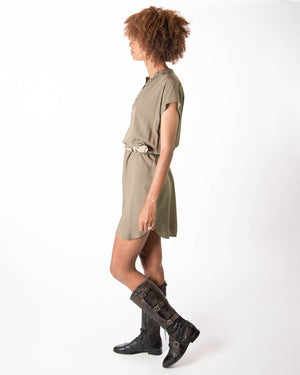 Travel Dress in Olive