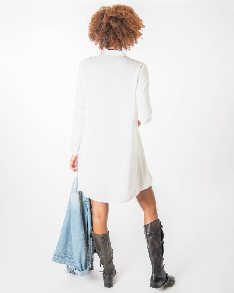 Rodkin Tunic in Off White