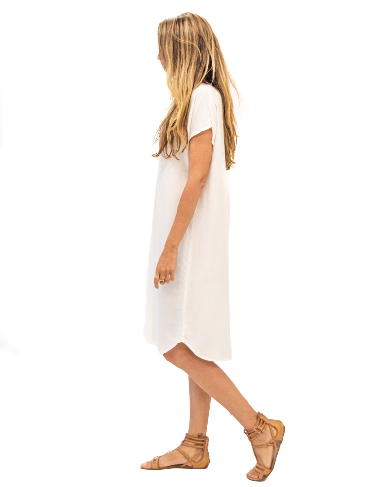 Travel Dress in Off-White