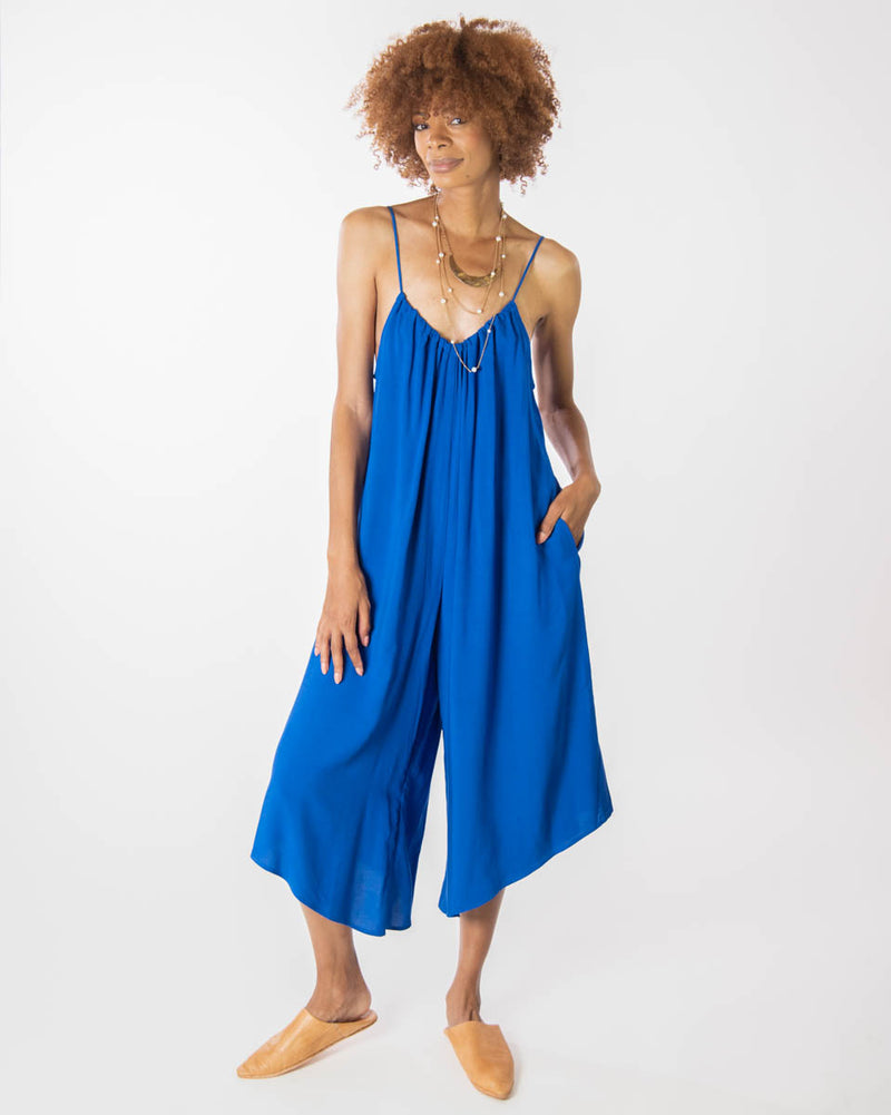 Sonoma Playsuit in Majorelle Blue