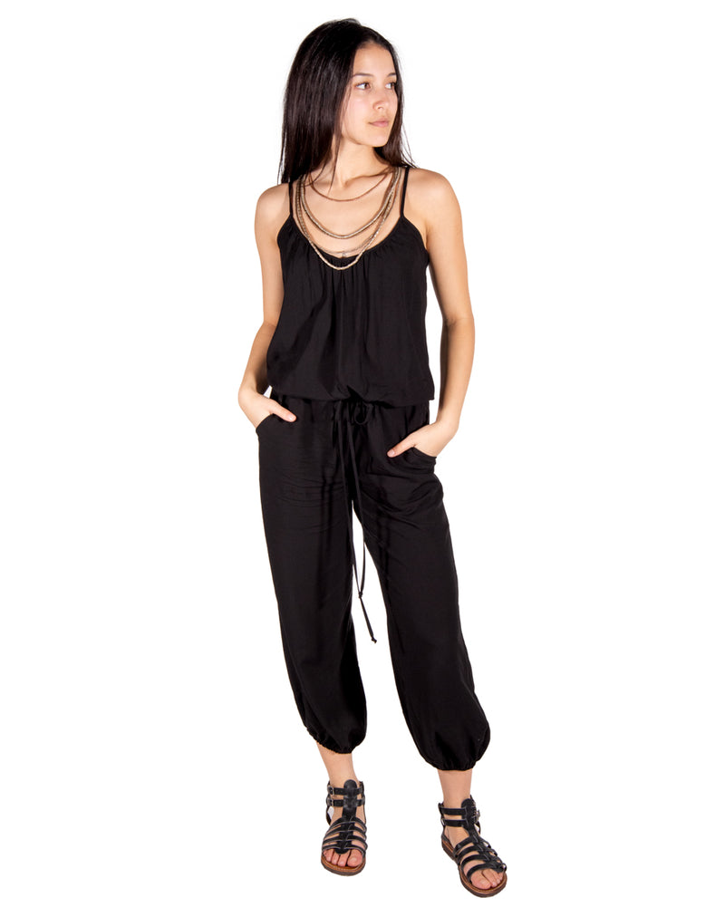 Claudette Jumpsuit In Black