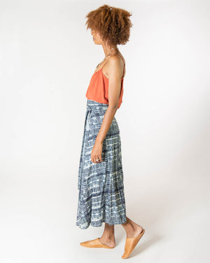 Wrap Skirt in Take Me Everywhere
