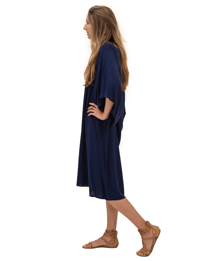 Spirit Dress in Navy