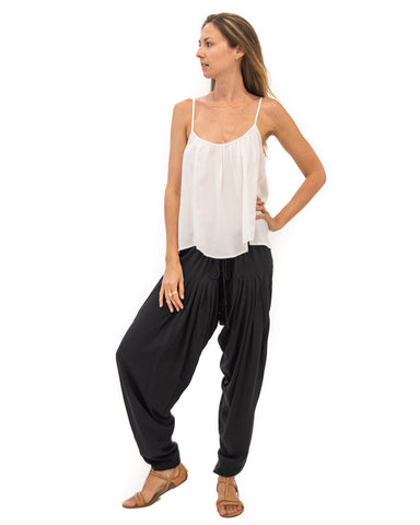High Waist Pant in Black