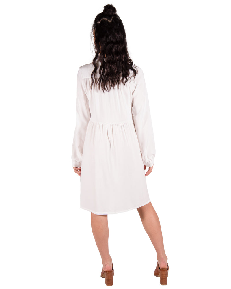Ocean Breeze Dress in Off White