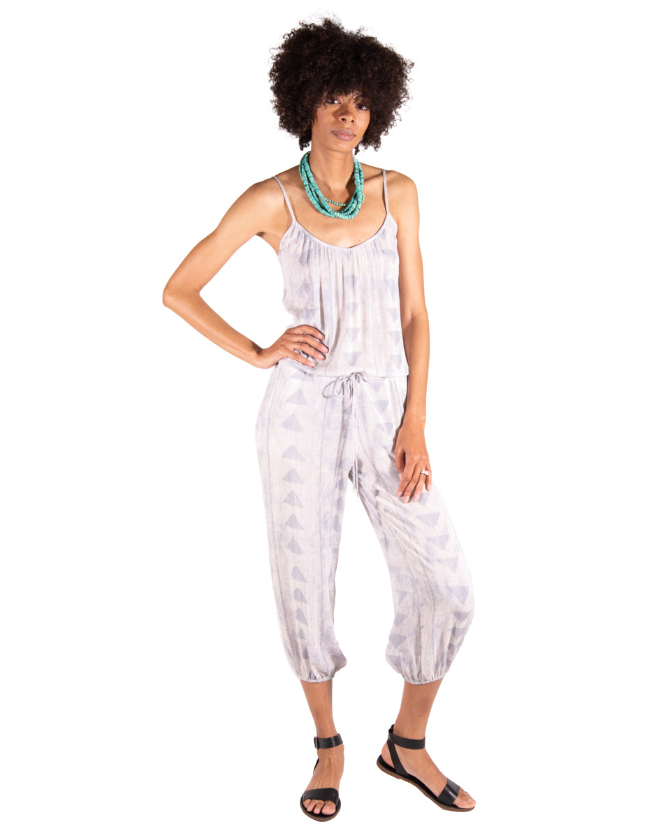 Claudette Jumpsuit in Greece