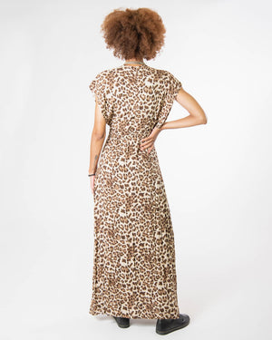 Garbo Dress in Leopard