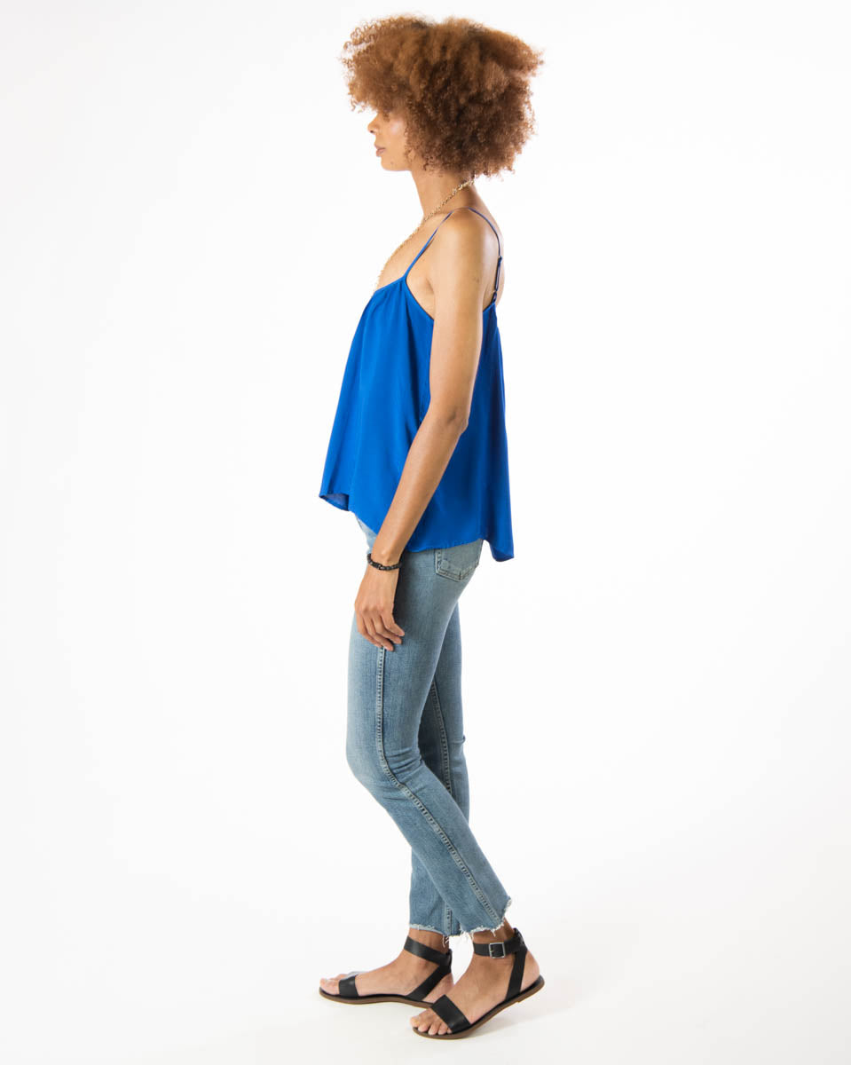 Gold Dust Tank in Majorelle Blue