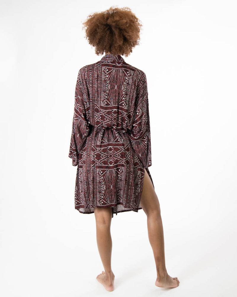 Lounge Robe in African Sunrise