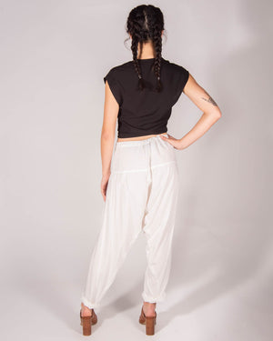 O'Keeffe Pant in Off White