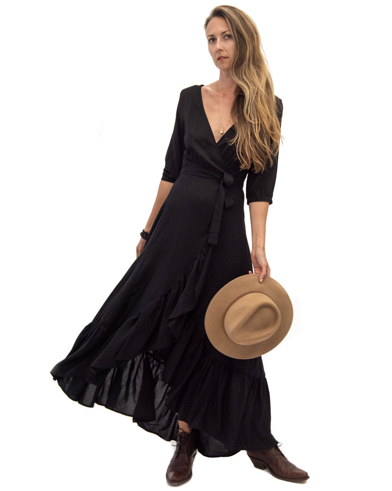 Spanish Dancer Dress in Black
