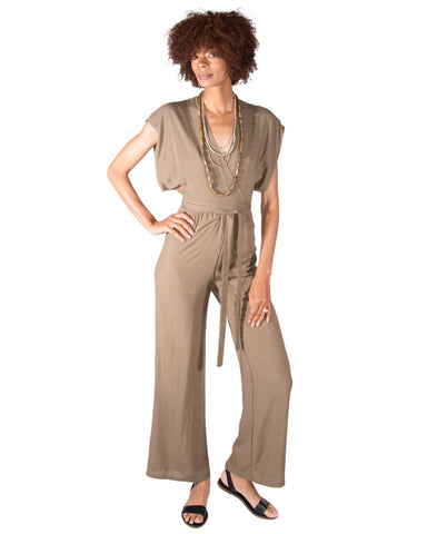 Garbo Jumpsuit in Black