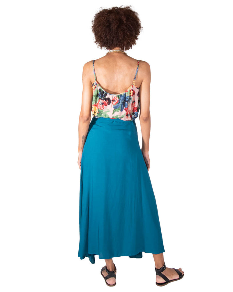 Wrap Skirt in Mediterranean Sea