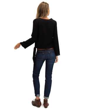 Barcelona Blouse in Black