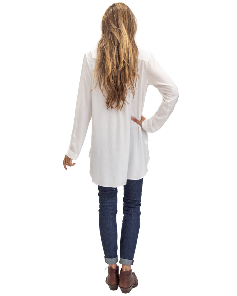 Tahoe Tunic in Off White
