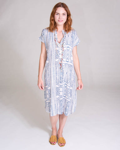 Long Perfect Dress in Abstract