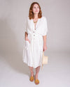French Market Dress in Off White