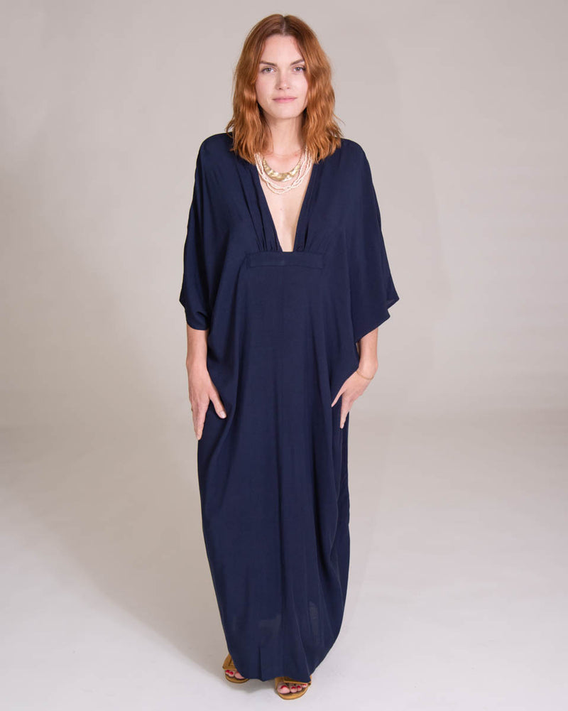 Dali Dress in Navy