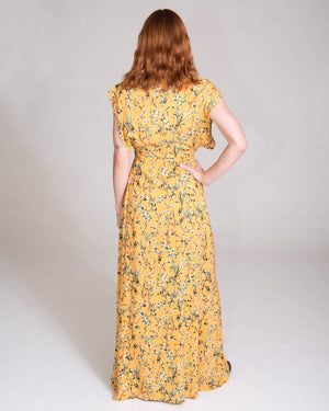 Garbo Dress in Wildflower