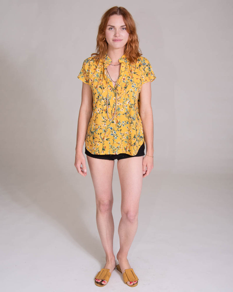 Travel Top in Wildflower
