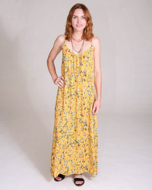 Long Perfect Dress in Wildflower