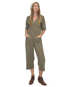 Claudette Jumpsuit In Olive