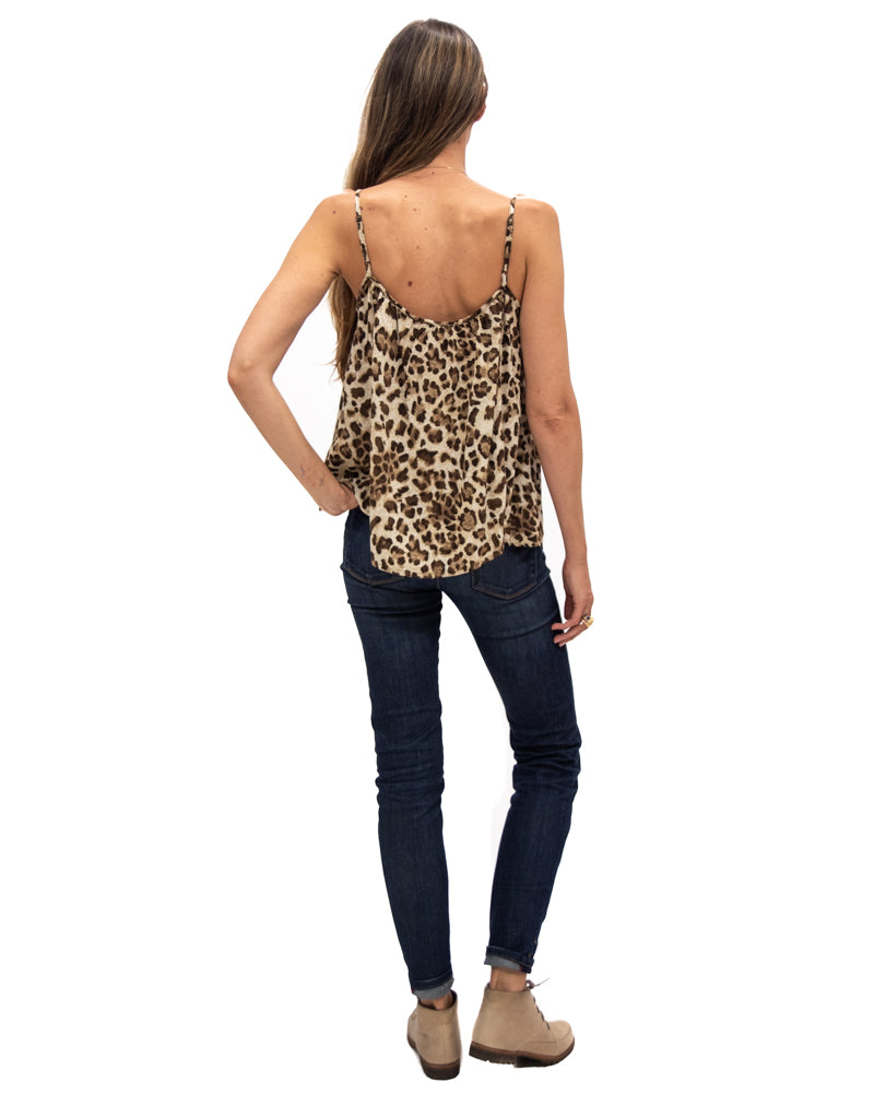 Gold Dust Tank in Leopard