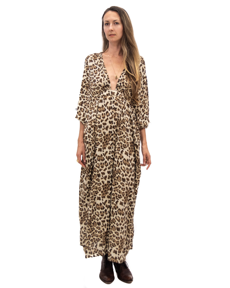 Dali Dress in Leopard