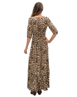 Spanish Dancer Dress in Leopard