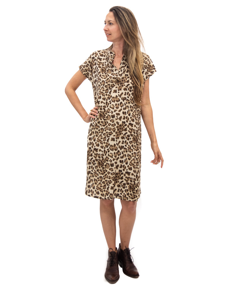Travel Dress in Leopard