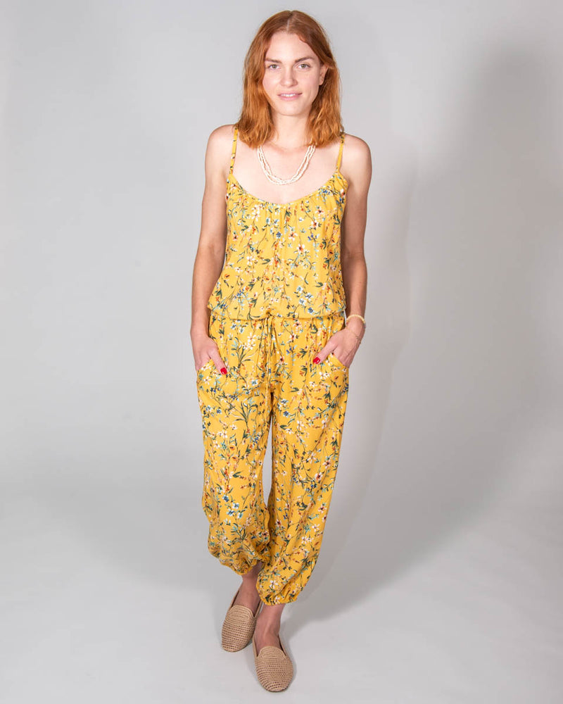 Claudette Jumpsuit in Wildflower