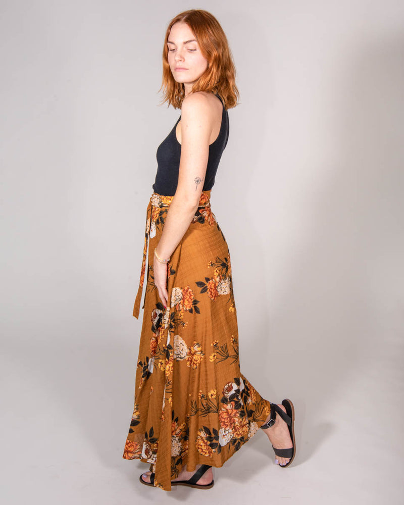 Wrap Skirt in Desert Rose