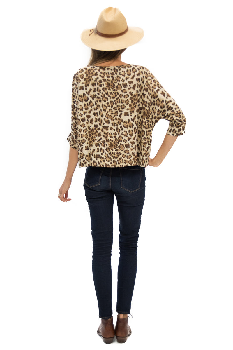 Botero Blouse in Leopard