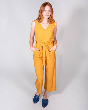 Riviera Jumpsuit in Citrine