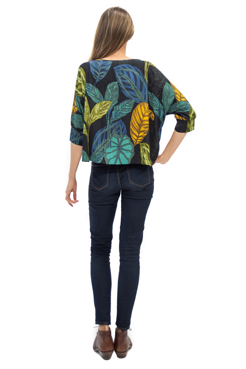 Botero Blouse in Live Wild