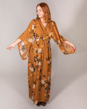Wrap Me Up Dress in Desert Rose