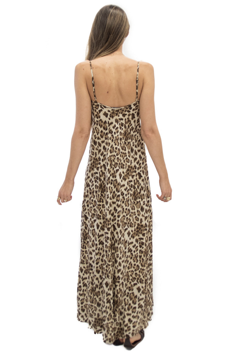 Deer Creek Dress in Leopard